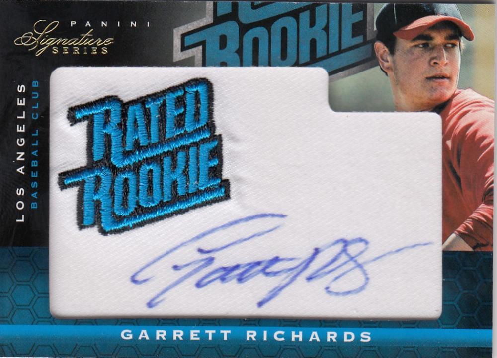 2012 Panini Signature Series Rookies RR Logo
