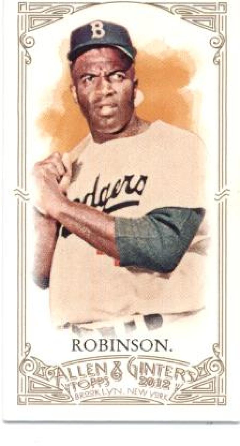 2012 Allen and Ginter  Mini A and G No Number
