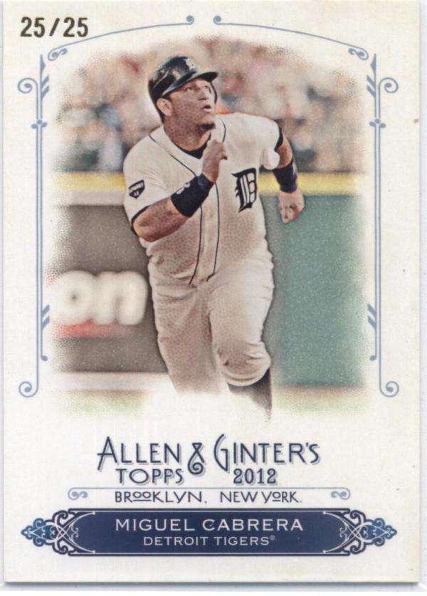 2012 Allen and Ginter  Rip Cards