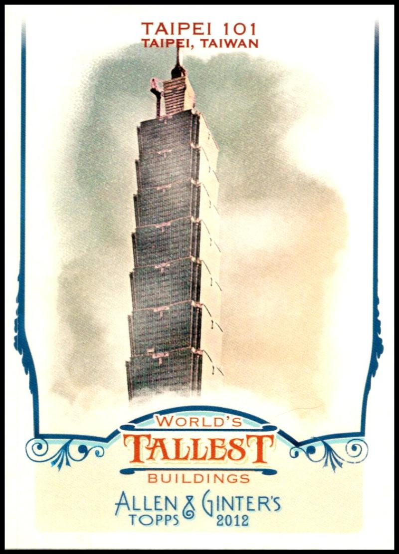 2012 Allen and Ginter  World's Tallest Buildings