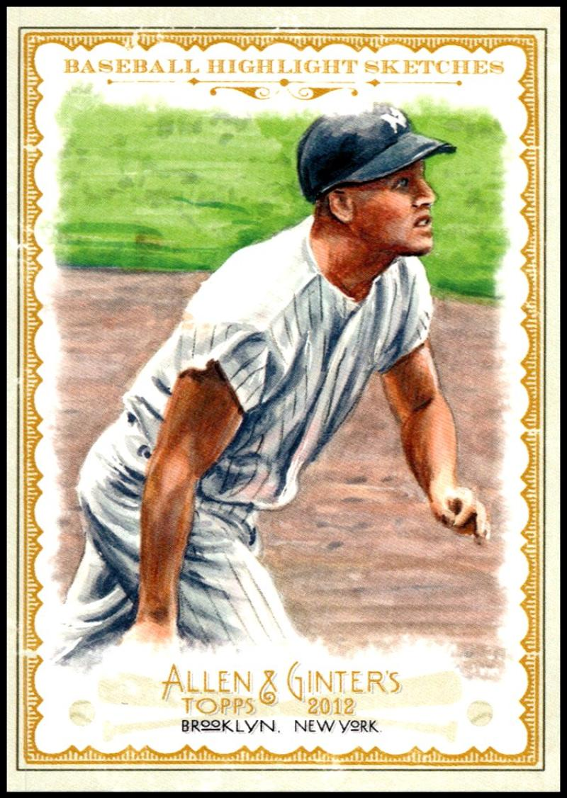 2012 Allen and Ginter  Baseball Highlights Sketches