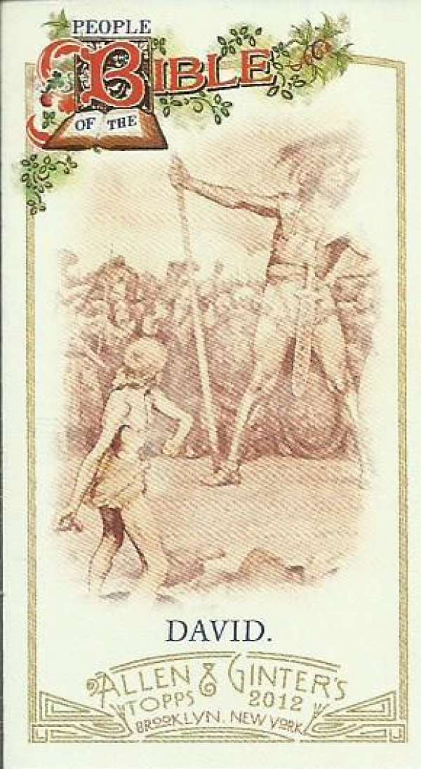 2012 Allen and Ginter  Mini People of the Bible