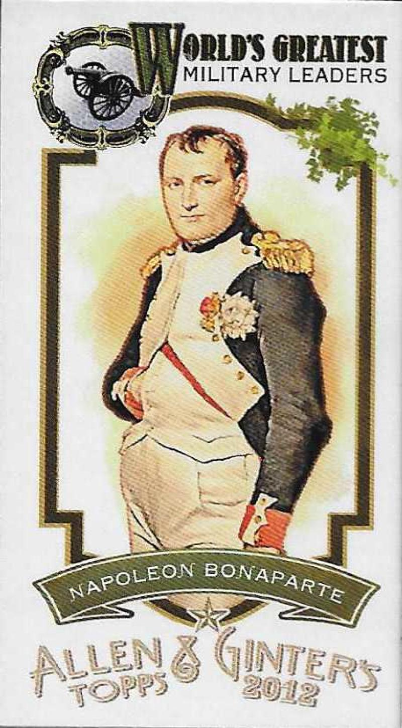 2012 Allen and Ginter  Mini World's Greatest Military Leaders