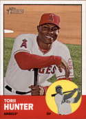 2012 Topps Heritage #98 Torii Hunter NM-MT Los Angeles Angels Official MLB Baseball Card