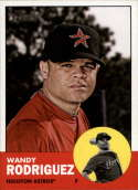 2012 Topps Heritage #99 Wandy Rodriguez NM-MT Houston Astros Official MLB Baseball Card