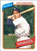 2012 Topps Archives #138 Joe DiMaggio NM-MT New York Yankees  Officially Licensed MLB Baseball Trading Card