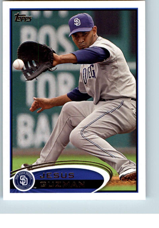 2012 Topps #14 Jesus Guzman NM-MT San Diego Padres