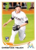 2013 Topps Update Baseball #US290 Christian Yelich RC Rookie Miami Marlins