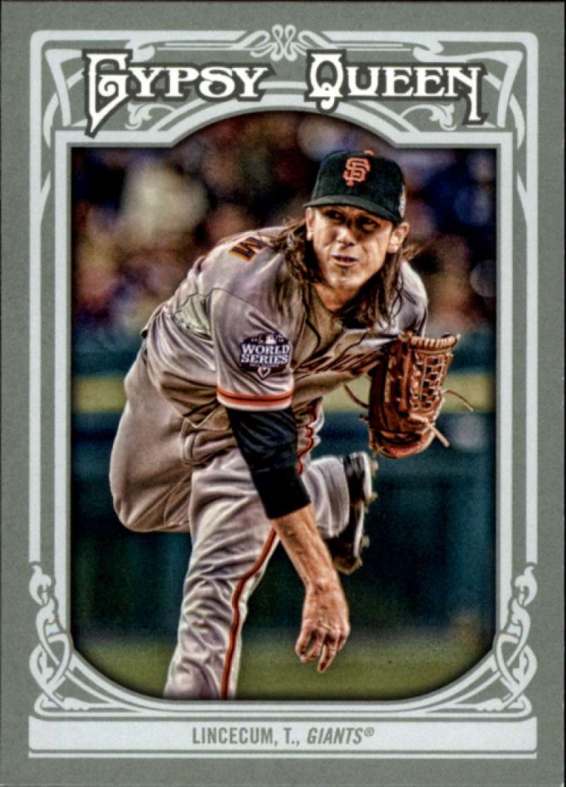 2013 Topps Gypsy Queen #92 Tim Lincecum SP NM-MT San Francisco Giants