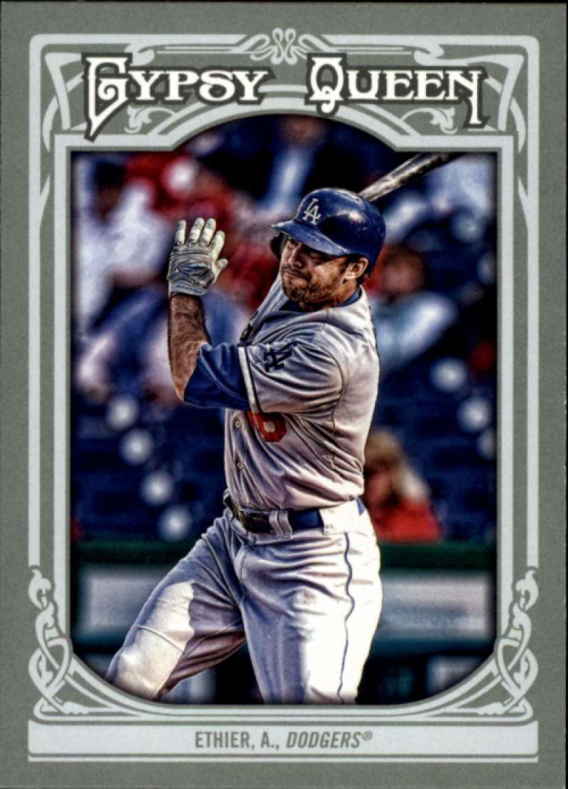 2013 Topps Gypsy Queen #204 Andre Ethier SP NM-MT Los Angeles Dodgers