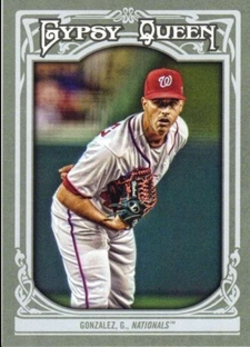 2013 Topps Gypsy Queen #208 Gio Gonzalez SP NM-MT Washington Nationals