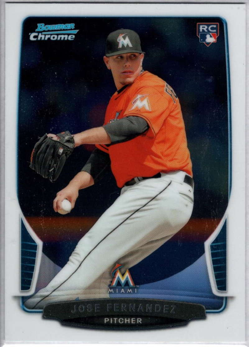 2013 Bowman Draft Chrome #10 Jose Fernandez NM-MT RC Marlins