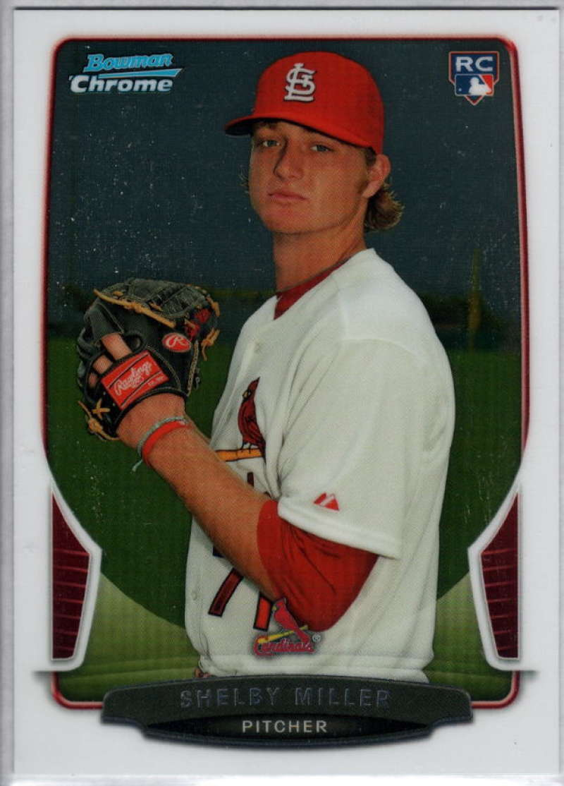 2013 Bowman Draft Chrome #32 Shelby Miller NM-MT RC Cardinals
