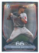 2014 Bowman Top 100 Prospects #BTP-66 Mookie Betts Boston Red Sox NM-MT