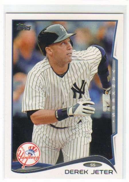 2014 Topps #200 Derek Jeter NM-MT New York Yankees