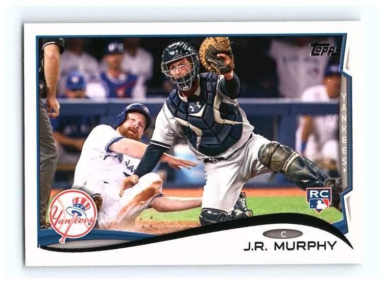 2014 Topps #231 J.R. Murphy NM-MT RC Rookie Yankees