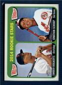 Baseball MLB 2014 Heritage #49 Jonathan Schoop/Xander Bogaerts  RC