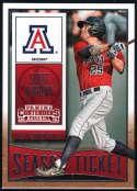 2015 Panini Contenders Season Ticket #85 Scott Kingery Arizona Wildcats