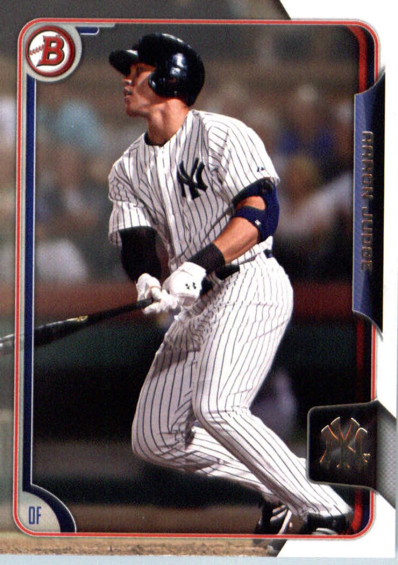 2015 Bowman Draft #150 Aaron Judge Yankees