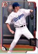 2015 Bowman Draft #46 Walker Buehler Dodgers