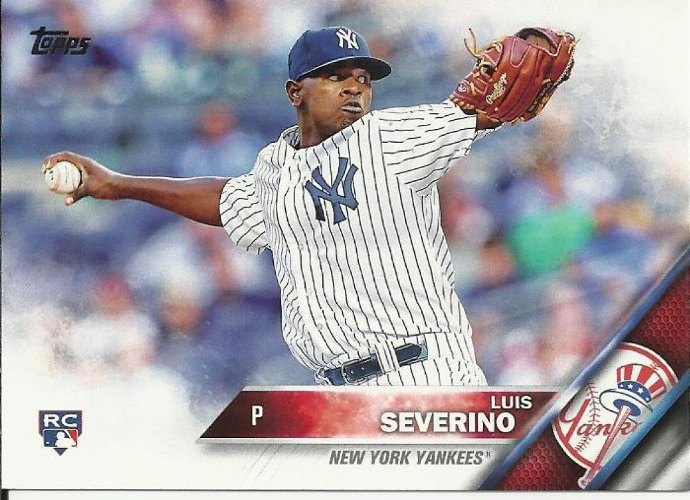 2016 Topps #265 Luis Severino NM-MT RC Rookie New York Yankees