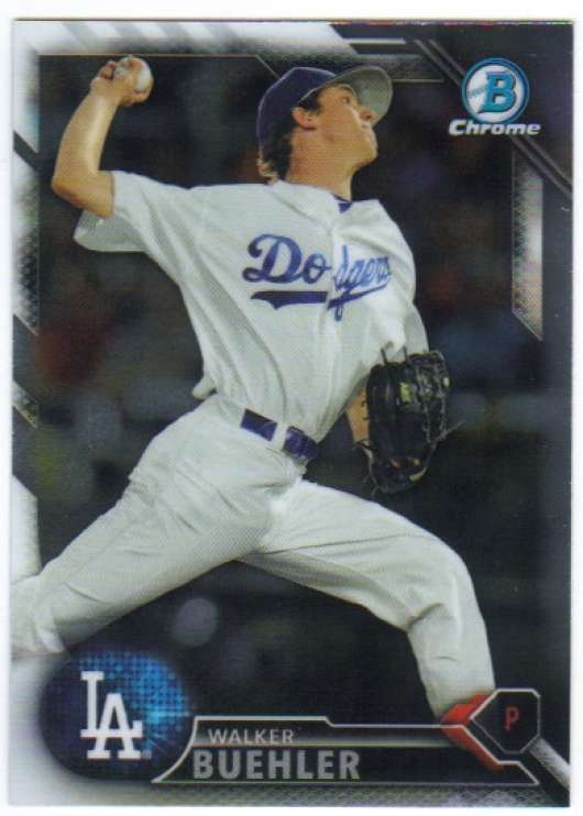 2016 Bowman Chrome Prospects #BCP78 Walker Buehler NM-MT Dodgers
