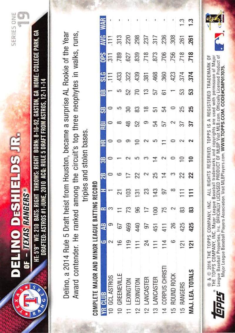 thumbnail 31 - 2016 Topps Baseball Cards Pick From List 1-251