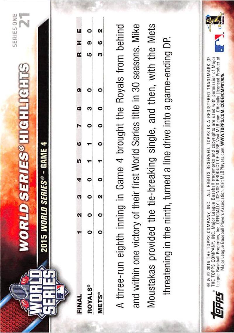 thumbnail 34 - 2016 Topps Baseball Cards Pick From List 1-251