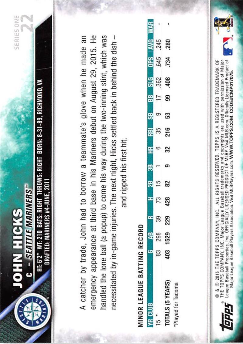 thumbnail 36 - 2016 Topps Baseball Cards Pick From List 1-251