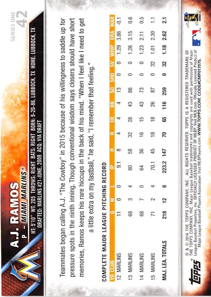 thumbnail 71 - 2016 Topps Baseball Cards Pick From List 1-251