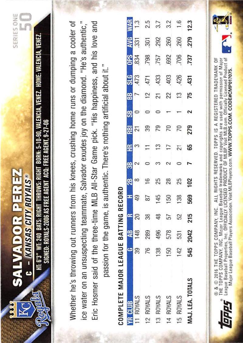 thumbnail 83 - 2016 Topps Baseball Cards Pick From List 1-251