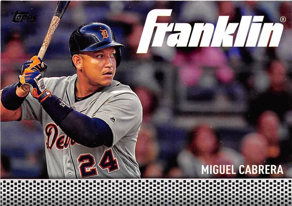b1263c6e5 2016 Topps Update Team Franklin  TF-1 Miguel Cabrera