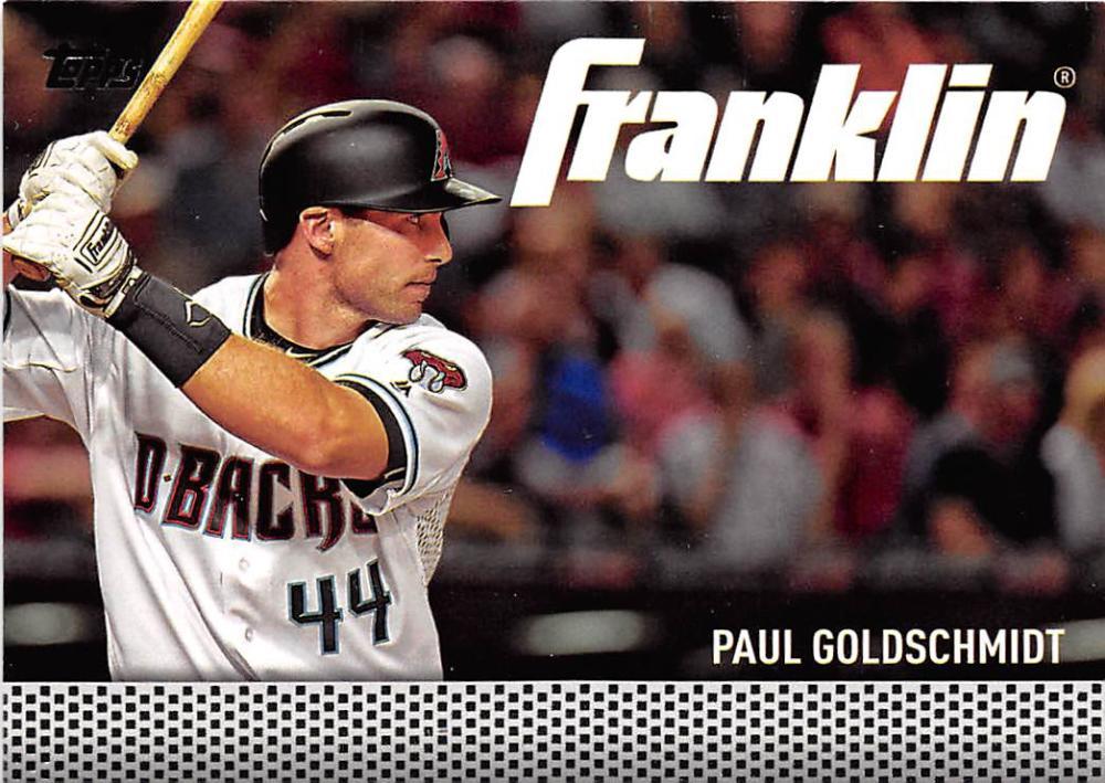 b7690ce6f 2016 Topps Update Team Franklin  TF-5 Paul Goldschmidt