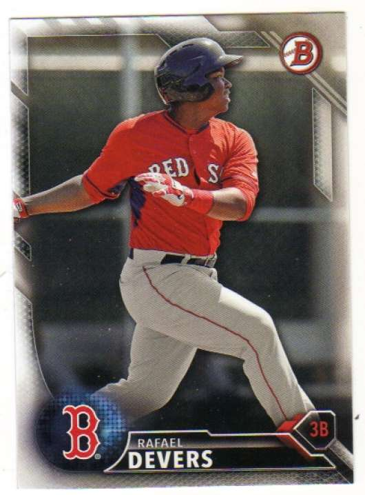 2016 Bowman Draft #BD-143 Rafael Devers NM-MT