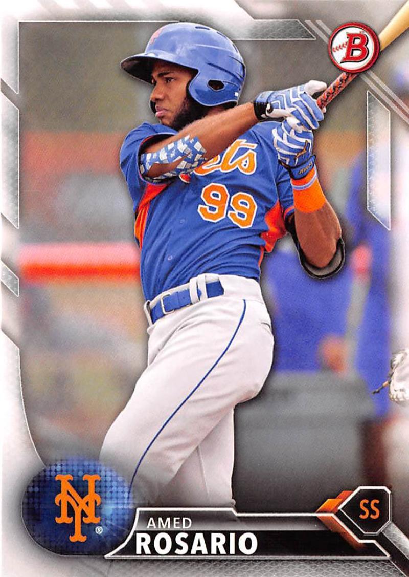 2016 Draft #BD-190 Amed Rosario NM-MT Mets
