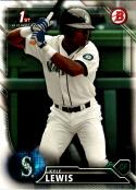 2016 Draft #BD-60 Kyle Lewis NM-MT Mariners