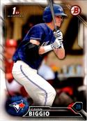 2016 Draft #BD-81 Cavan Biggio NM-MT Blue Jays