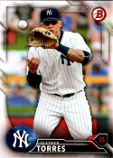 2016 Draft #BD-160 Gleyber Torres NM-MT Yankees