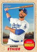 2017 Topps Heritage #131 Andre Ethier Los Angeles Dodgers
