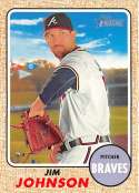 2017 Topps Heritage #218 Jim Johnson NM-MT Braves
