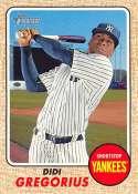 2017 Topps Heritage #293 Didi Gregorius New York Yankees