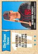 2017 Topps Heritage #375 Buster Posey Giants AS NM-MT