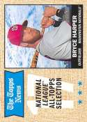 2017 Topps Heritage #377 Bryce Harper Nationals AS NM-MT
