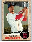 2017 Topps Heritage #441 Xander Bogaerts SP Boston Red Sox