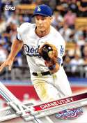 2017 Opening Day #53 Chase Utley NM-MT Dodgers