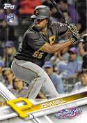 2017 Opening Day #57 Josh Bell NM-MT RC Rookie Pirates