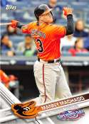2017 Opening Day #80 Manny Machado NM-MT Orioles