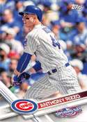 2017 Opening Day #96 Anthony Rizzo NM-MT Cubs