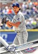 2017 Opening Day #104 Chris Archer NM-MT Rays