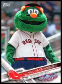 2017 Opening Day Mascots #M-24 Wally the Green Monster 1:3 packs NM-MT Red Sox